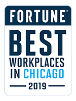 Fortune - Best Places to Work in Chicago 2019 Award