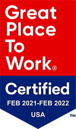 Great Place to Work Certified 2021-2022