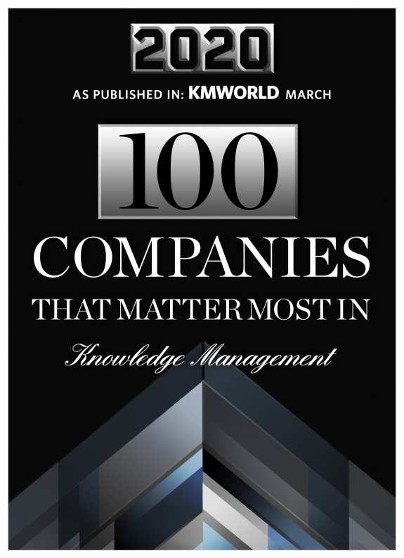 Relativity Named to KMWorlds 100 Companies That Matter In Knowledge Management